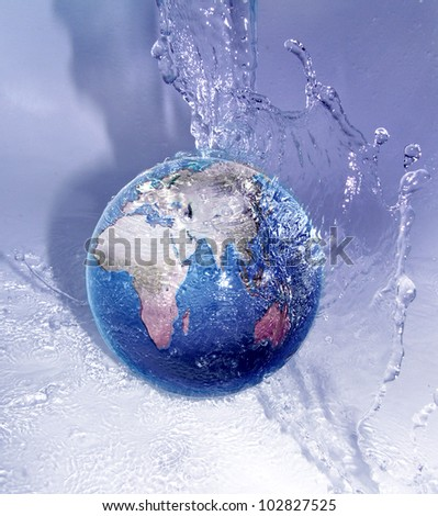 world and water