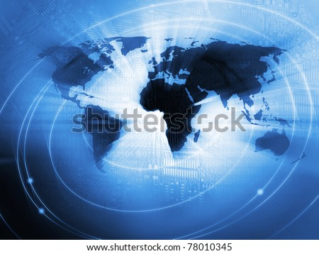 World Business Background #78010345