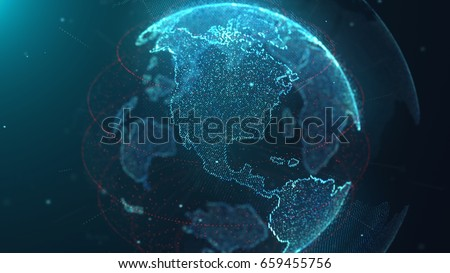 World connect particle 04