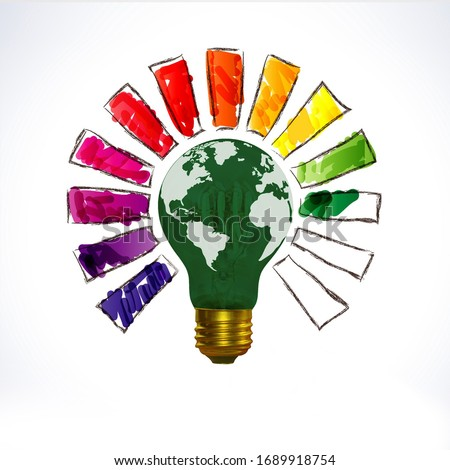 World Creativity and Innovation Day, Creativity day,  Innovation Day, Intellectual Property Day, Earth in light bulb shape , Innovative learning, creative, earth hour, world light bulb, world innovate
