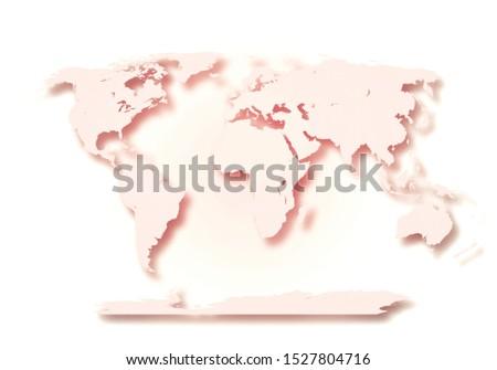 World digital outlined map background #1527804716