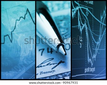 World economics. Finance concept.