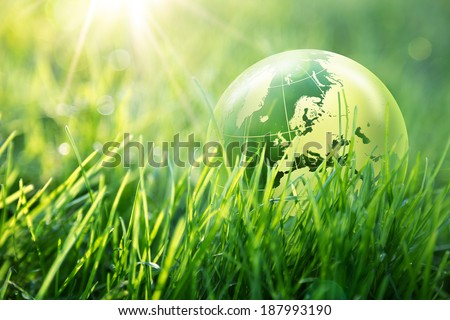 world environmental concept - Europe - Elements of this image furnished by NASA