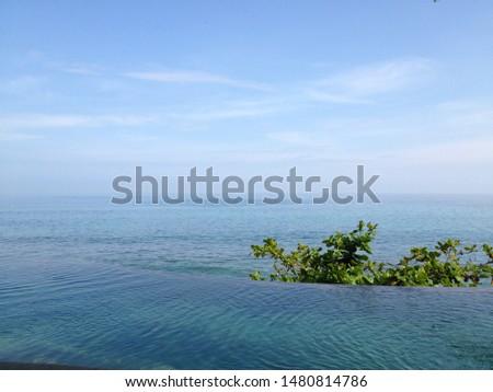 world famous luxury resort's beach  #1480814786