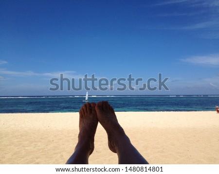 world famous luxury resort's beach  #1480814801