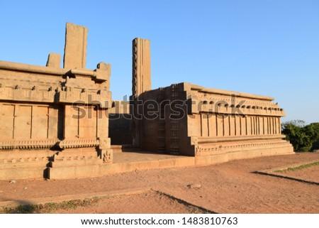 world famous Monument at Mahabalipuram   #1483810763