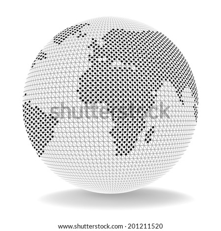 World Globe Representing Importing Selling And Ecommerce