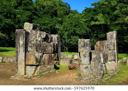 World Heritage  blast furnace ruins #597625970
