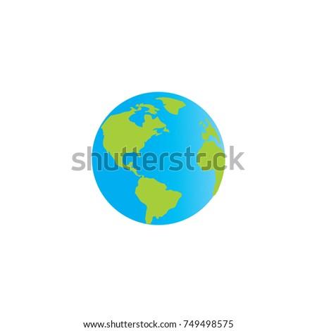 world icon logo