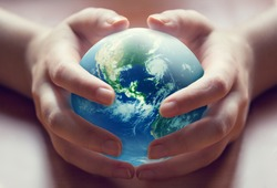 World in human hands