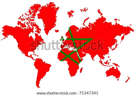 Images and places pictures and info morocco flag wallpaper with morocco flag gumiabroncs Gallery
