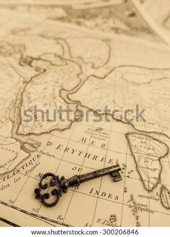 World map of Antique #300206846