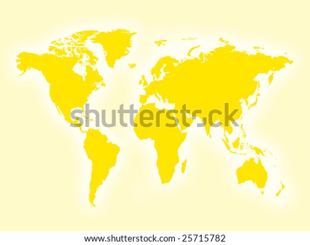 map of world with countries and. stock photo : World map to