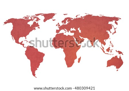 world map vintage artwork - perfect background with space for text or image #480309421