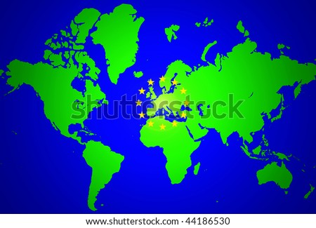 world map european countries. world map europe and asia.