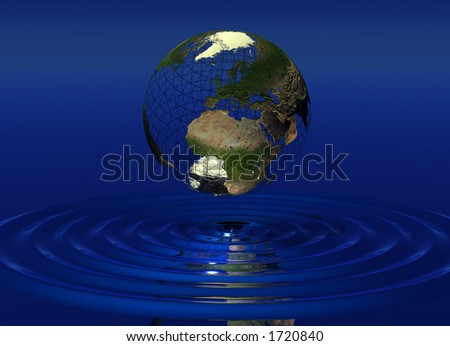 World over water
