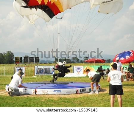 World parachuting championship Lu�enec Bolkovce Slovakia 2008. FAI