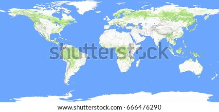 Shutterstock PuzzlePix - World topography