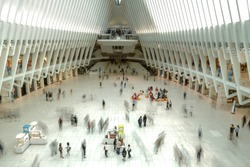 World Trade Center Oculus. A major transporation Hub of New York City.
