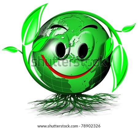 World tree smile