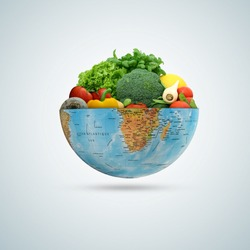 world vegetable day, vegetable on the world, fresh vegetable, vegan day, world food day