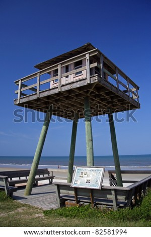 World War II Coastal Watchtower in Flagler Beach, Florida