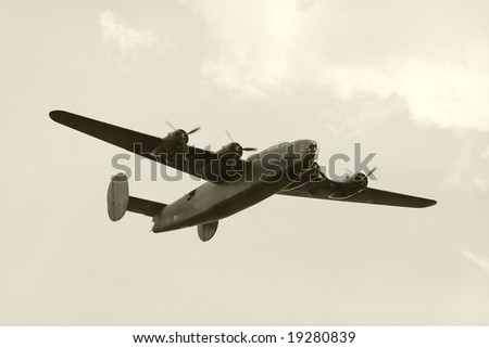World War II era American heavy bomber