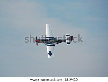 World War II legendary P-51 Mustang fighter