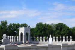 world war 2 memorial in Washington DC