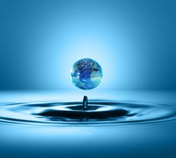 World Water Day Concept. Every Drop Matters. Saving water and world environmental protection concept- Environment day and earth day.