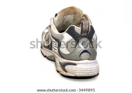 worn dirty sneakers