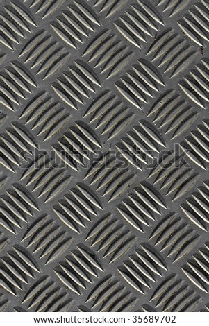 Worn grunge metal texture with detail - stock photo