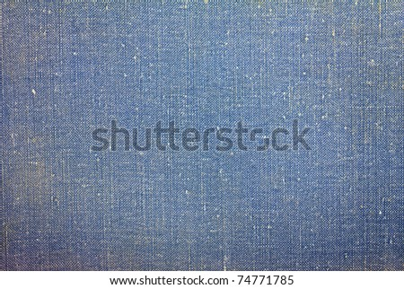 worn highly detailed fabric texture from book cover