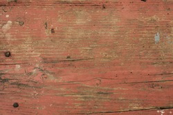 Worn painted red wood texture