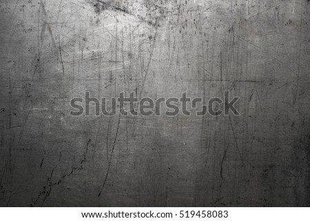 Worn steel texture or metal background - Shutterstock ID 519458083