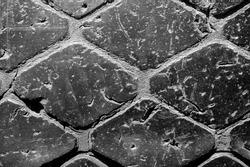 Worn tire tread. Texture, background, pattern