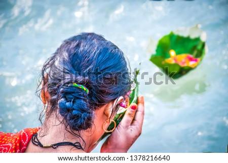 worship ganga river