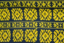 woven cloth from ethnic Bajawa, Flores Island, Indonesia