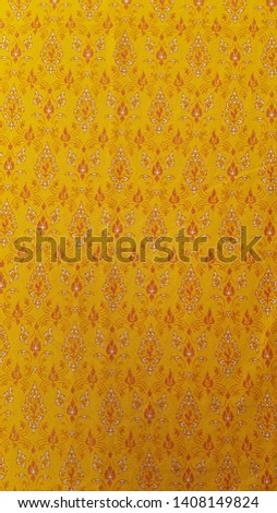 Woven Fabric Thai fabric, fabric texture background