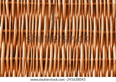 Woven rattan with natural patterns background/Woven rattan with natural patterns background