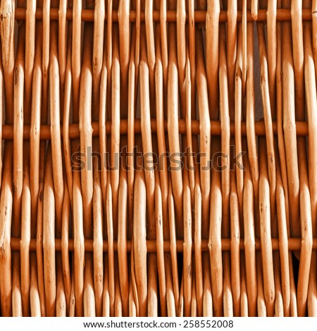 Woven rattan with natural patterns background/ Woven rattan with natural patterns background