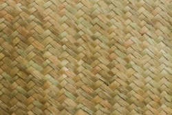 Woven straw texture