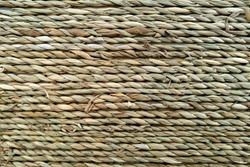 Woven texture. seamless texture of basket surface. wooden vine wicker straw basket. handcraft weave texture.