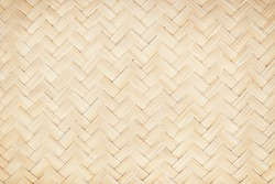 woven wooden texture surface top view