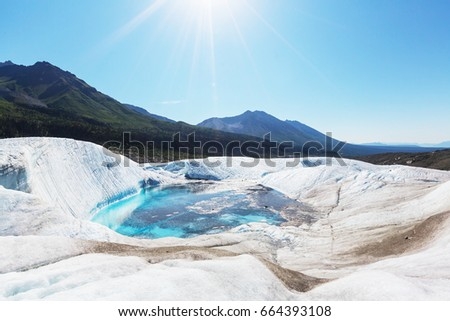 Wrangell-St. Elias National Park and Preserve, Alaska. #664393108