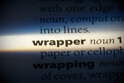wrapper word in a dictionary. wrapper concept, definition.