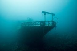 Wreck Fishing Boat, Hurghada, Egypt