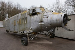Wreck of a Russian airplane in Twente (Netherlands)