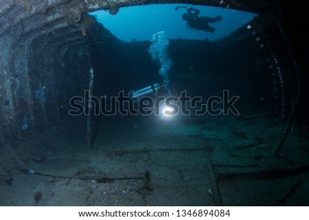 Wreck Scuba Diving #1346894084