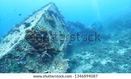 Wreck Scuba Diving #1346894087